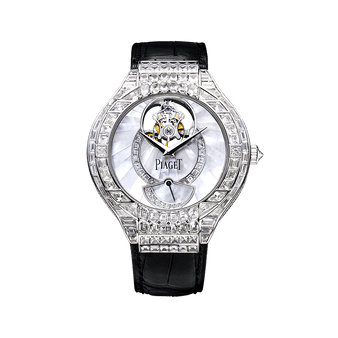 reloj tourbillon con diamantes