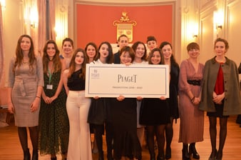 piaget sponsors students from the HEJ