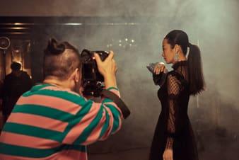 趙濤拍攝金馬獎宣傳照片