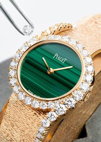 L'art du sertissage: montre Limelight Gala en or et diamants signée Piaget