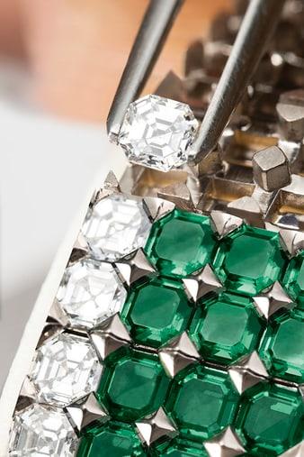 piaget craftsmanship gem-setting