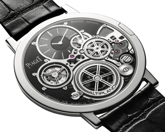 Currently the world's thinnest mechanical watch