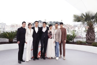 The Wild Goose Lake stars radiant in Piaget at the photocall