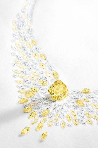 golden hour high jewellery necklace