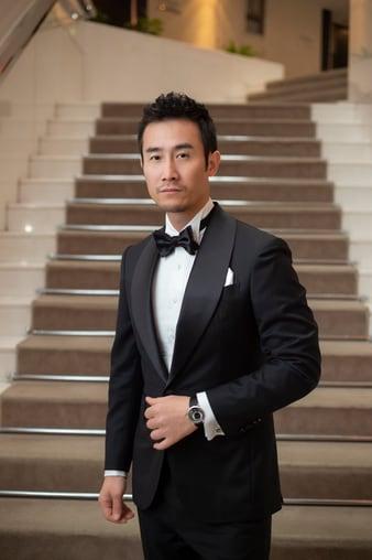Qi Dao wore an Altiplano ultra-thin watch