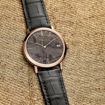 luxury ultra-thin watch