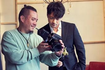 段奕宏拍攝金馬獎宣傳照片