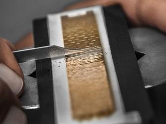 Herstellung von Schmuckstücken und Haute Joaillerie  aus Gold