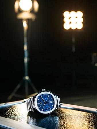 Piaget Polo S精鋼高級計時碼錶