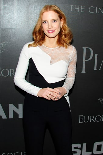 Jessica Chastain - Miss Sloane NYC - Piaget jewellery