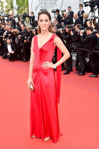 Maria Joao wearing Piaget at Cannes film festival