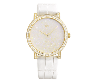 rose gold and diamond watch