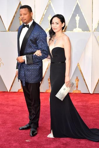 テレンス・ハワードとミラ・パークが2017年アカデミー賞にピアジェのウォッチとジュエリーで登場