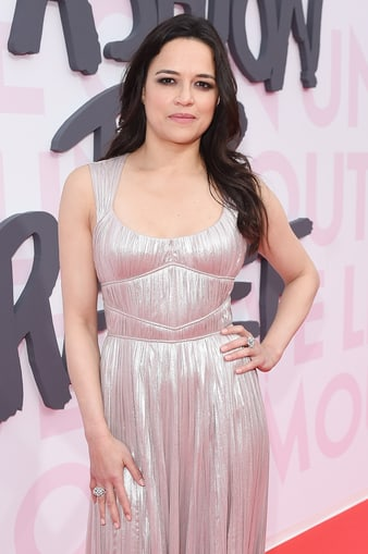 Michelle Rodriguez wears Piaget diamond jewelry in Cannes