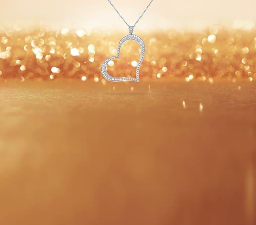 Pendentif cœur en diamant pour femme Piaget Heart
