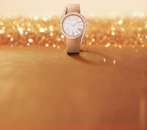 Limelight Gala玫瑰金鑽石高級腕錶