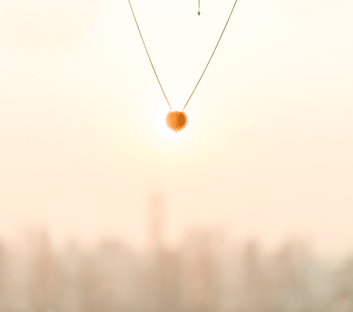 Piaget Sunlight金質項鏈