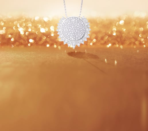 Piaget Sunlight diamond pendant for women