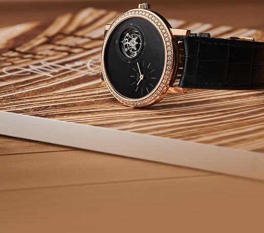 altiplano ultra-thin rose gold watch