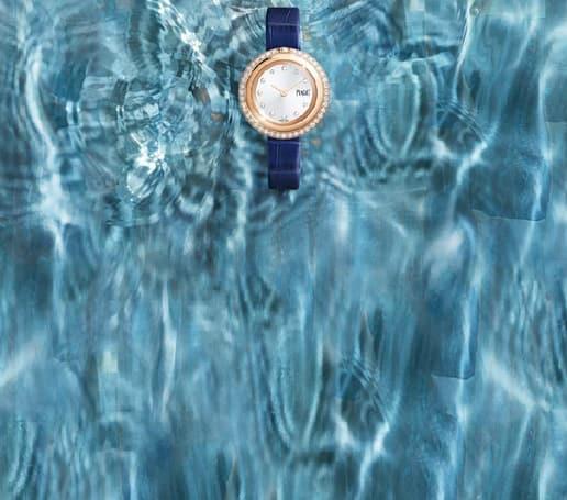 ساعة بياجيه بوسيشن فاخرة للنساء مع حزام قابل للتبديل