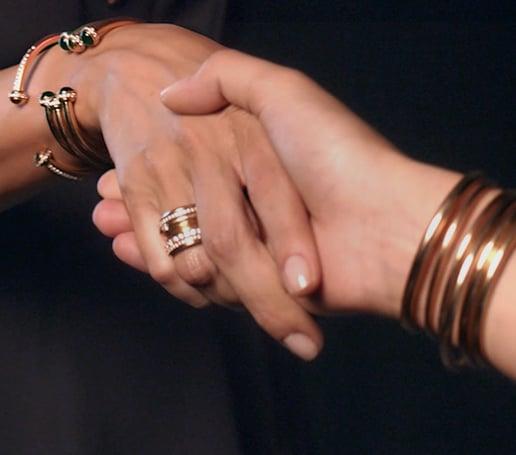 Cómo llevar joyería de oro Piaget Possession