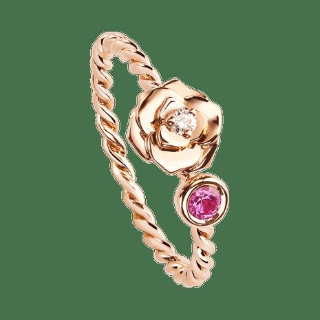 Rose Gold Diamond Ring Piaget Luxury