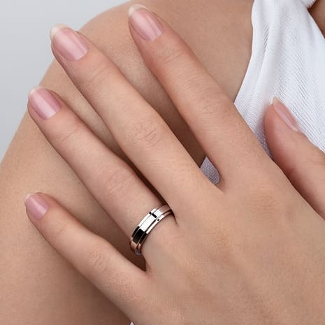 White Gold Wedding Ring G34pk700 Piaget Wedding Jewelry Online
