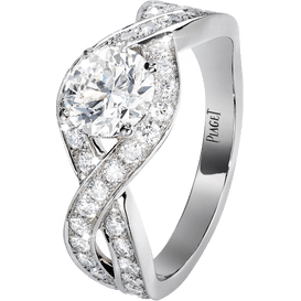Piaget Jardin Secret訂婚指環