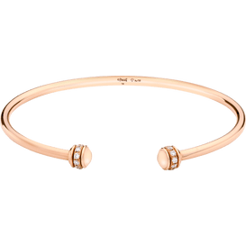 Possession open bangle bracelet