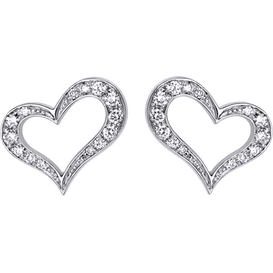 Piaget Heart earrings