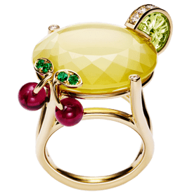 Bague Limelight inspiration cocktail