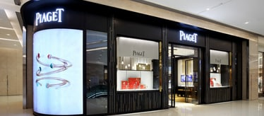 Piaget men luxury watch boutique in Chongqing