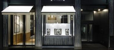 Boutique Piaget Ginza à Tokyo - montres et joaillerie de luxe