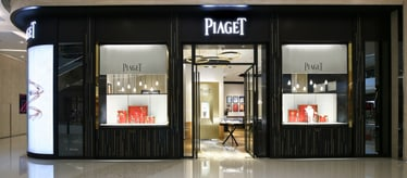 Piaget jewellery and watch boutique in Chongqing China