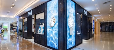 Piaget jewellery and watch boutique in Wuhan