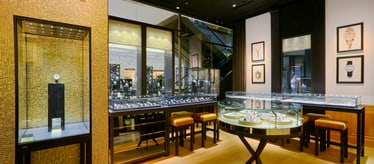 Piaget jewellery and watch boutique in Beijing China