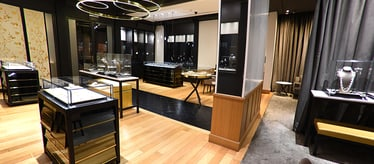 Boutique Piaget Jameel Square à Djeddah - montres et joaillerie de luxe