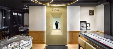 Boutique Piaget Peninsula Hotel à Hong Kong - montres et joaillerie de luxe