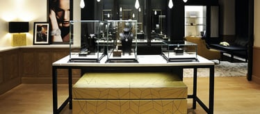 Boutique Piaget à Taipei - bijoux et montres de luxe
