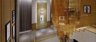 Boutique Piaget à Tokyo - bijoux et montres de luxe