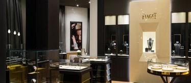 Bijoux et montres de luxe - Boutique Piaget de Dubaï