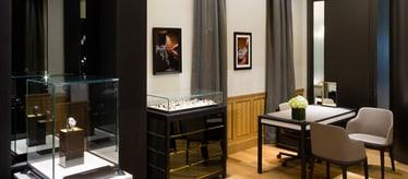Boutique Piaget à Dubaï - bijoux et montres de luxe