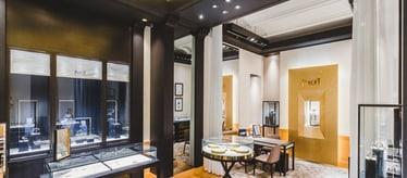 Boutique Piaget Gum à Moscou - montres et joaillerie de luxe