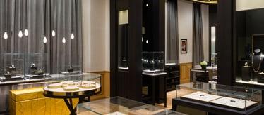 Joaillerie et montres de luxe boutique à Dubaï