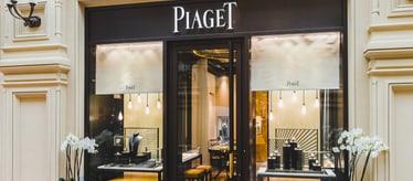 Boutique Piaget à Moscou - bijoux et montres de luxe