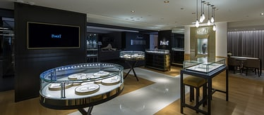 Piaget men luxury watch boutique in Tokyo