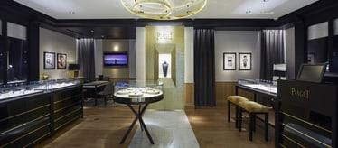 Boutique Piaget à Séoul - bijoux et montres de luxe