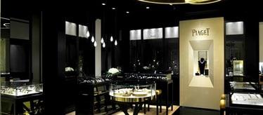 Boutique Piaget Harrods à Londres - montres et joaillerie de luxe