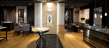 Fine jewellery and watch boutique in Geneva
